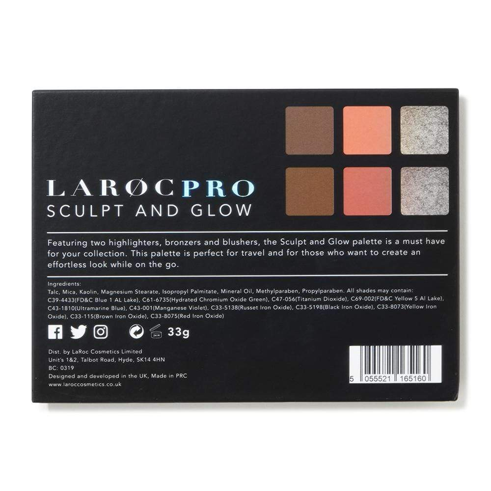Bronzer & Blusher - LaRoc Pro Sculpt And Glow