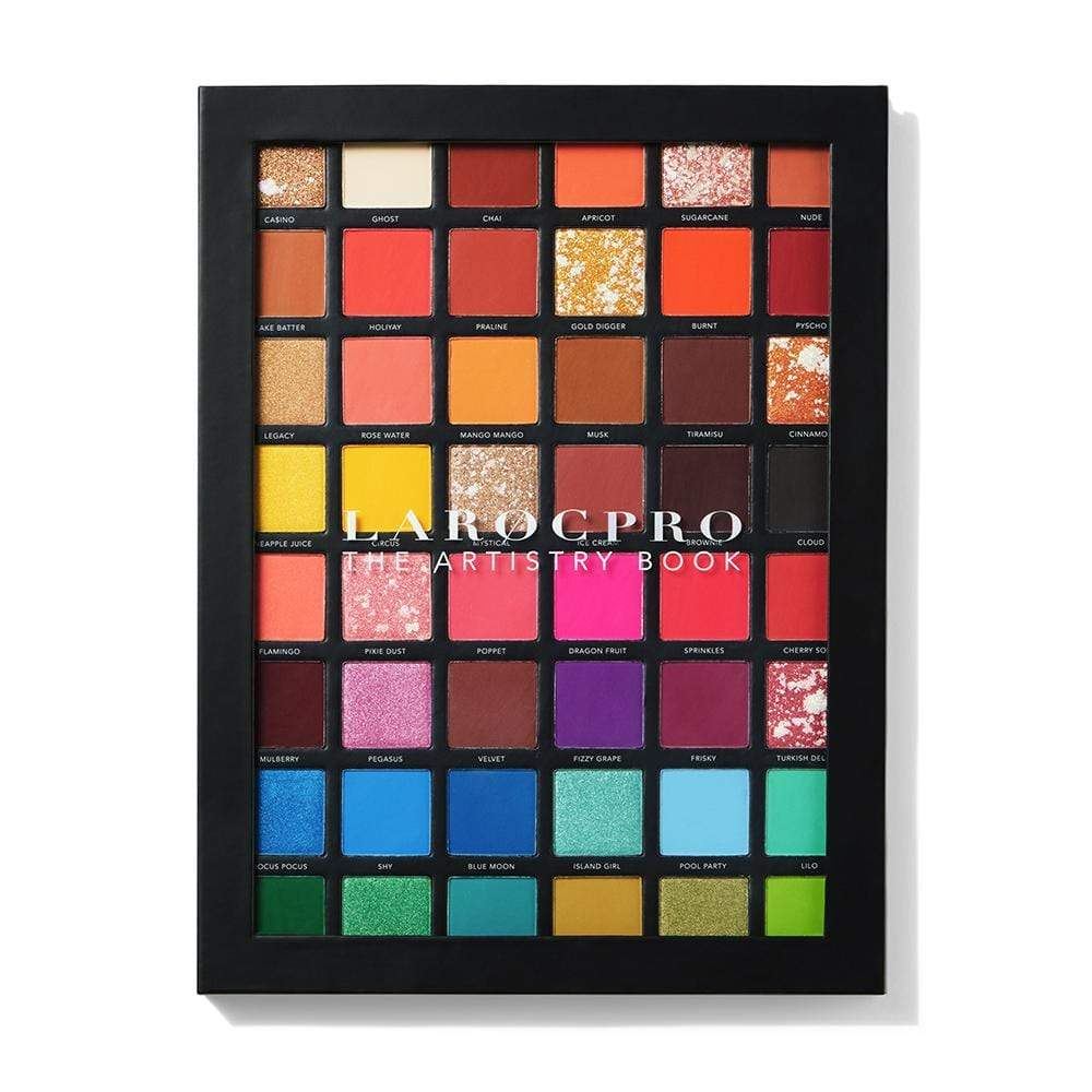 [CUSTOM] Professional Makeup Palette - The Artistry Book - LaRoc Pro