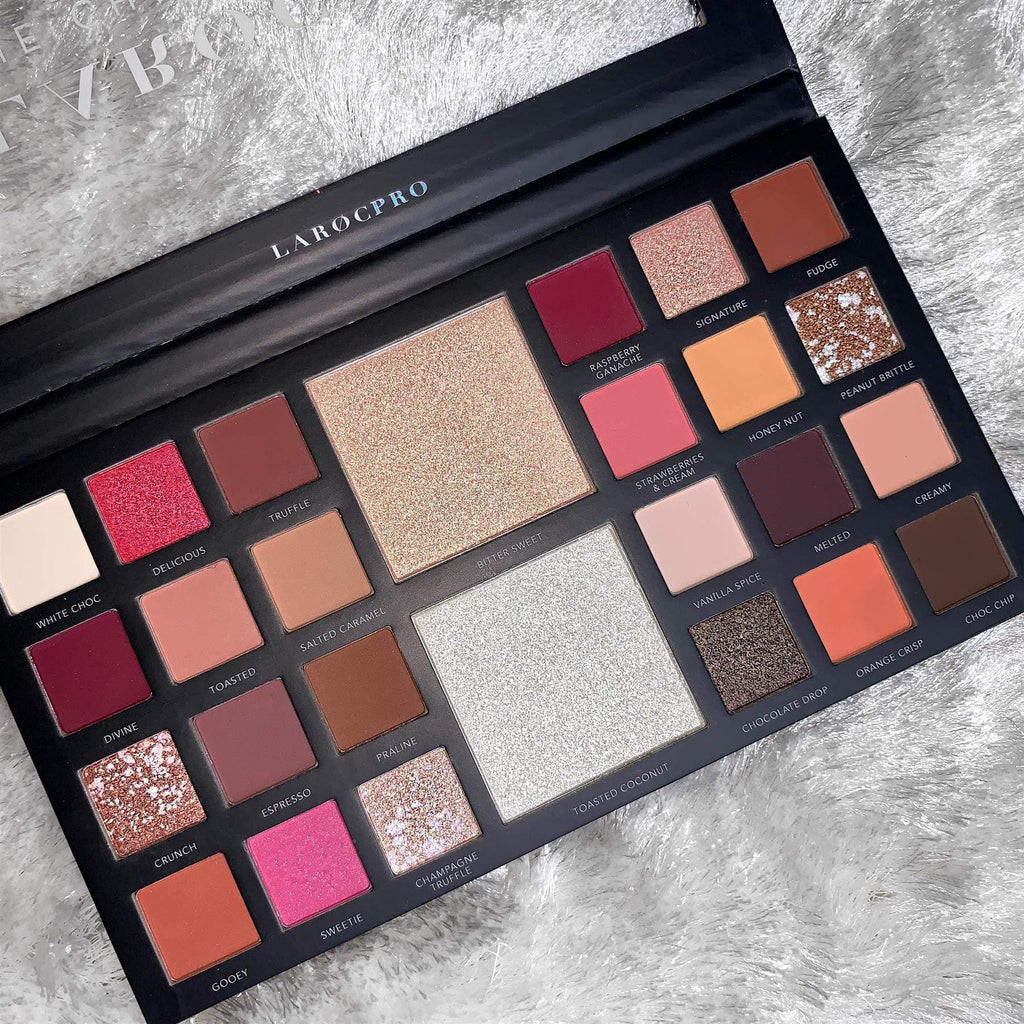 LaRoc Pro The Chocolate Box Eyeshadow Palette