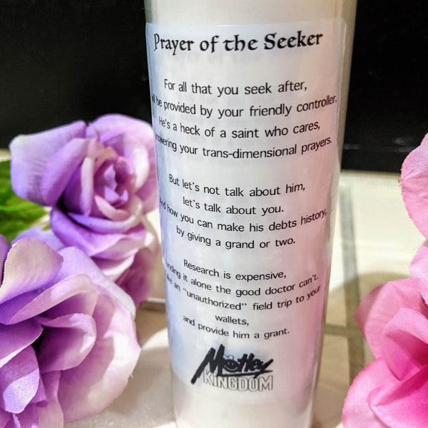 Dr. Seeker Prayer Candle