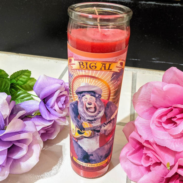 Big Al Prayer Candle