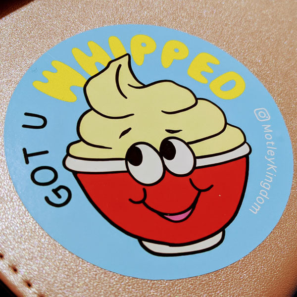 Dole Whipped Sticker