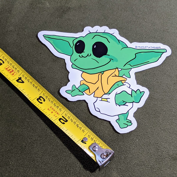 Rugrats Yoda sticker