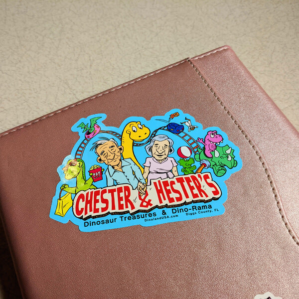 Chester & Hester's sticker