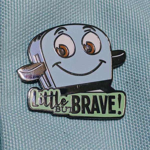Brave Little Toaster pin