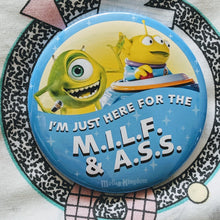 Load image into Gallery viewer, M.I.L.F. & A.S.S. celebration pins
