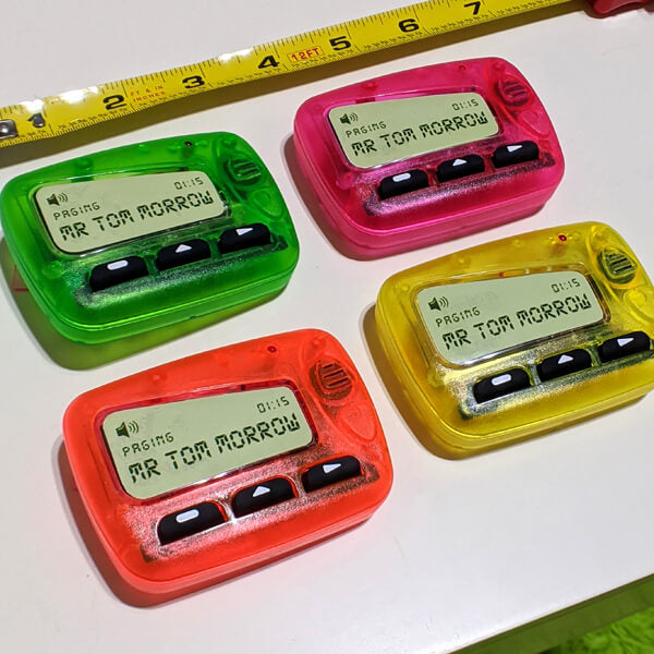 Tom Morrow Pager magnet