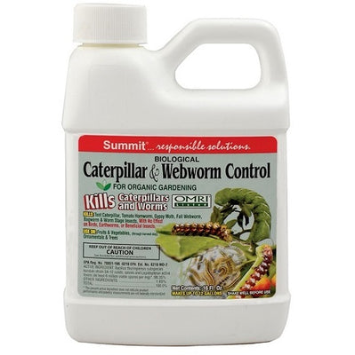 Summit® Biological Caterpillar & Webworm Control, 16 Ounces
