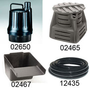 Pondmaster® Pondless Kit with Pump, Vault, Waterfall Filter and Tubing