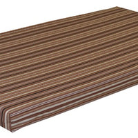 A&L Furniture Weather-Resistant Acrylic Cushion for VersaLoft Mission Daybeds, Maroon Stripe