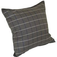 A&L Furniture Weather-Resistant Outdoor Acrylic Throw Pillow, Cottage Gray