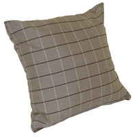 A&L Furniture Weather-Resistant Outdoor Acrylic Throw Pillow, Cottage Tan