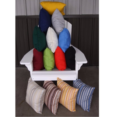 A&L Furniture Weather-Resistant Outdoor Acrylic Throw Pillows