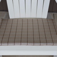 A&L Furniture Weather-Resistant Outdoor Acrylic Chair Cushion, Cottage Tan