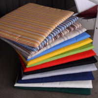 A&L Furniture Weather-Resistant Outdoor Acrylic Chair Cushions