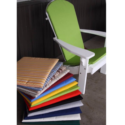 A&L Furniture Weather-Resistant Outdoor Acrylic Full Adirondack Chair Cushions
