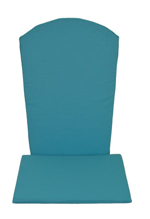 A&L Furniture Weather-Resistant Outdoor Acrylic Full Adirondack Chair Cushion, Aqua