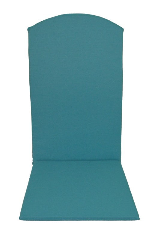 A&L Furniture Weather-Resistant Outdoor Acrylic Rocking Chair Cushion, Aqua