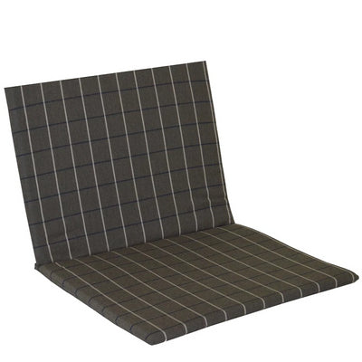 A&L Furniture Weather-Resistant Outdoor Acrylic Full Chair Cushion, Cottage Gray