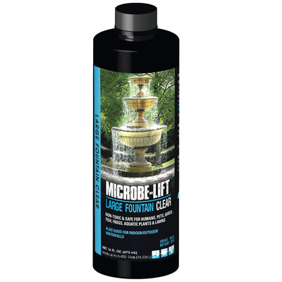 Microbe-Lift® Large Fountain Clear, 16 Ounces