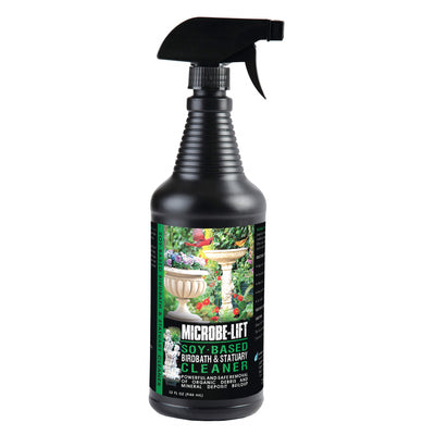 Microbe-Lift® Soy-Based Birdbath & Statuary Cleaner, 32 Ounces