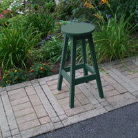 A&L Furniture Co. Amish-Made Poly Bar Stool