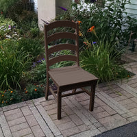A&L Furniture Co. Amish-Made Poly Ladderback Dining Chair