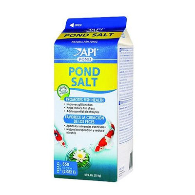 API® Pond Salt, 4.4 Pound Container