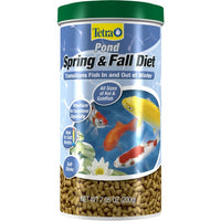 TetraPond® Spring & Fall Diet Cold Weather Wheat Germ Food, 7.05 Ounces