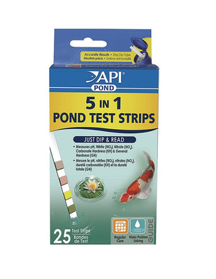 API® Pond 5-in-1 Test Strips