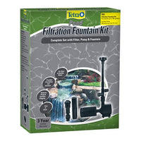 TetraPond® Filtration Fountain Kit with Foam Pre-Filter