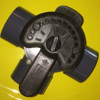 Top view of Three-Way Valve for Flow Control Applications
