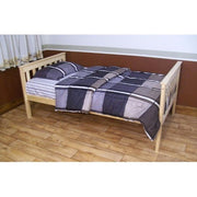 A&L Furniture Company VersaLoft Twin Mission Bed, Unfinished