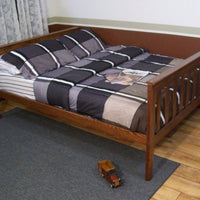 A&L Furniture Company VersaLoft Full Mission Bed, Asbury stain