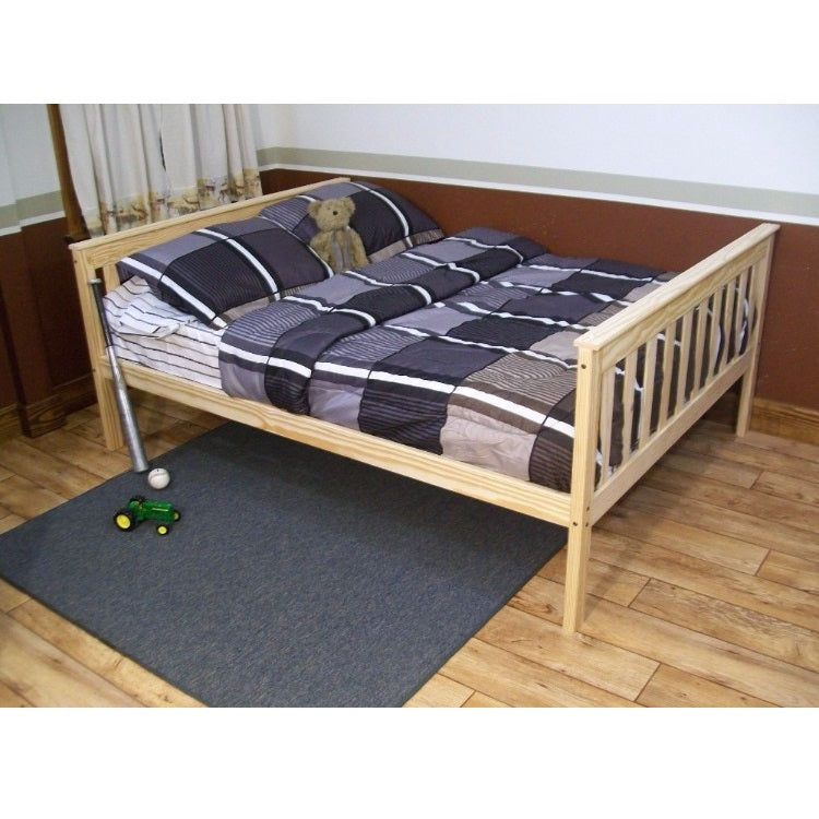 A&L Furniture Company VersaLoft Full Mission Bed, Unfinished