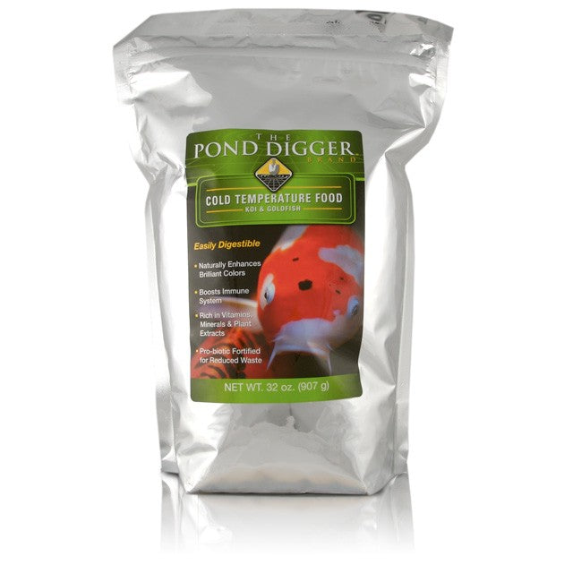 The Pond Digger Cold Temperature Koi and Goldfish Food
