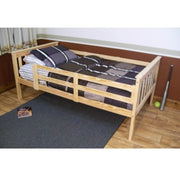 A&L Furniture Company VersaLoft Twin Mission Bed with Safety Rails