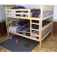 A&L Furniture Company VersaLoft Full Mission Bunkbed, Unfinished
