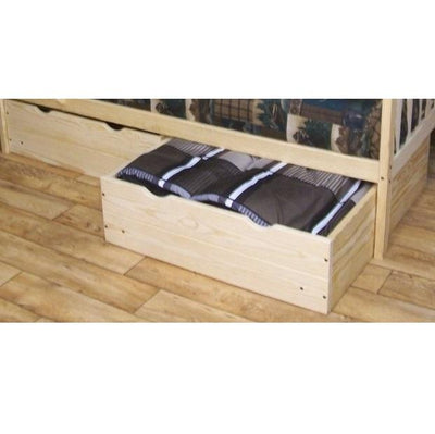 A&L Furniture Company VersaLoft 2 Piece Twin Bed Drawers