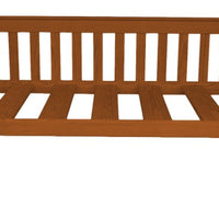 A&L Furniture Company VersaLoft Twin Mission Daybed, Mikes Cherry stain