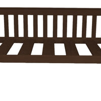 A&L Furniture Company VersaLoft Twin Mission Daybed, Rich Tobacco stain