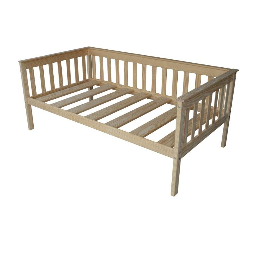 A&L Furniture Company VersaLoft Twin Mission Daybed, Unfinished
