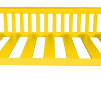 A&L Furniture Company VersaLoft Full Mission Daybeds, Canary Yellow