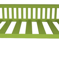 A&L Furniture Company VersaLoft Full Mission Daybeds, Lime Green