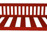 A&L Furniture Company VersaLoft Full Mission Daybeds, Tractor Red