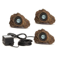 Anjon Manufacturing Ignite LED Rock Light Set with Transformer