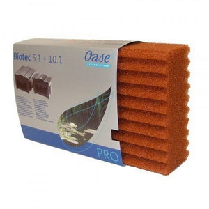 Oase BioTec 5.1 and BioTec 10.1 Replacement Red Foam