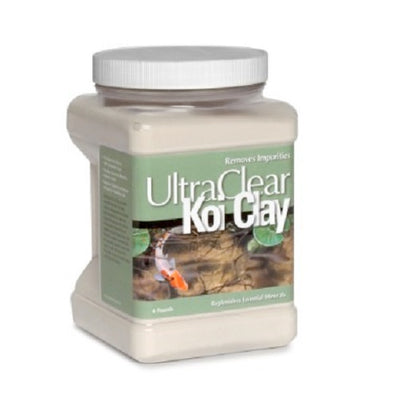 UltraClear® Bentonite Koi Clay, 4 Pounds