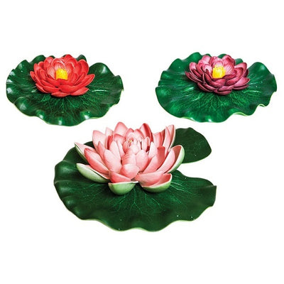 Oase Floating Lily Pads 3-Piece Pond Ornament Set