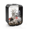 Black biOrb® LIFE 15 Aquarium Kit with Remote Controlled Color LED Lighting